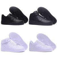 2021 Air Force 1 Shadow Running shoes أحدث الأحذية أسفل لينة الاحذية ارتداء مقاومة للرجال الكلاسيكية النساء جميع أبيض أسود منخفضة عالية 1 أحذية رياضية واحدة اليورو الحجم