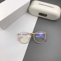 النظارات الجديدة إطار 2126 النظارات النظارات الإطار لإطار الرجال النساء قصر النظر نظارات عدسة واضحة مع حالة الأصلية