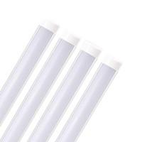 Luminaire de tube LED Batten, luminaires fluorescents, éclairage linéaire intégré pour la boutique, la cuisine, le garage, le bureau, le salon,