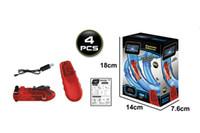 WYT Kreative Beleuchtung Pipeline RC High Speed Rennwagen, DIY Montage Multiple Play, Developmental Spielzeug, für Partei-Weihnachtskind-Geburtstags-Geschenke 06.06