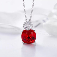 Red Crystal Jewelry Sets New Torque Trend Earrings And Neckl...