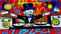Alec Monopoly High Quaity Handpainted & HD Printed Art On Ca...