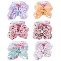 7 inch jojo siwa bows kids designer Hair Accessories bows Gi...