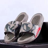 Diseñador de moda Diapositivas Hombres Chancletas Zapatillas de baloncesto Zapatos ajustables Sandalias de fiesta Sandalias de playa con caja grande SZ EE. UU. 13