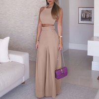 2019 Women Fashion Elegant Formal Office Sleeveless Casual S...