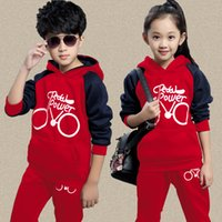 Children Spring Autumn with Virgin Suit New Boy Girl Set Bik...