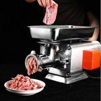New Commercial Elektrische Schneidemaschine Rindfleisch mincer Edelstahl Fleischwolf Desktop-Fleisch-Schneidemaschine für Verkauf