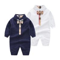 Sd chaud bébé marque vêtements bébé coton nouveau-né bébé nouveau-né bébé garçon printemps automne rompe enfants designer enfants kauchs