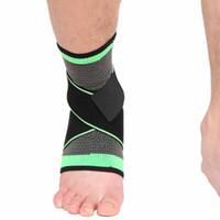 1 шт голеностопного поддержки Запуск цикла Баскетбол Футбол Тхэквондо Анти Усталость Фитнес Спортивные носки