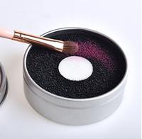 2019 макияж щетка для чистки мыть артефакт сухой губки изменение цвета очиститель мат стиральная косметика чистый инструмент