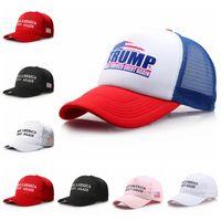 Make America Great Again Hat Donald Trump Snapback Sombreros deportivos Gorras de béisbol Bandera Sombreros de fiesta al aire libre 35 unids OOA6294