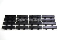 Niko 10pcs elettrico JB Jazz Bass Pickup Covers 4/5 corde basse pickup passivo / attivo per la chitarra bassa