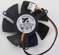 الأصل جيجابايت FS1250-S2053A 12V 0.19A 3-سلك مروحة بطاقة الرسومات مع قطر 4.5CM