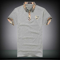 New Man Polo Shirt Mens Casual Deer Embroidery Cotton Polo s...