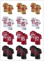 San Francisco Men Women Youth 49ers Jersey 85 George Kittle ...