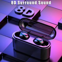 Q32 TWS Wireless Bluetooth Earphone 5. 0 Wireless Earbuds 8D ...