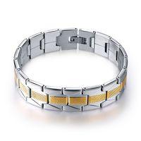 Braccialetto nero in silicone in acciaio inox da uomo Semplice nuovo design Punk Charm Braccialetti da cinturino per il regalo di gioielli moda uomo