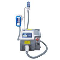 뜨거운 판매는 턱에 대한 냉동 핸들과 셀룰 라이트 감소 지방 제거를위한 한 Cryolipolysis 슬리밍 기계를 동결 maquina 지방을 criolipolisis
