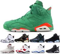 6 hombres Infrarrojo Negro 6s zapatos de baloncesto para hombre CNY Carmine Gatorade Tinker verde UNC Black Cat Designer zapatillas de deporte US 7-13