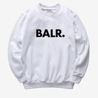 BALR Unisex Designer Sweatshirt 2019 New Mens Women O- Neck P...