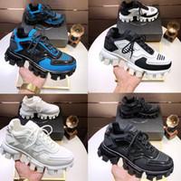 2019 mode Luxe Hommes Low Top Sneakers à lacets derniers P Souliers simple Thundermans correspondant à la plate-forme 19FW baskets de couleur de la série de capsules