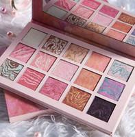 Neue Ankunft Lidschatten-Palette 15 Farbe Glitter Schimmern Lidschatten Dazzly Schönheit Make-up Korea Kosmetik Lidschatten