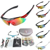 Cycling Goggles 5 Lens Polarized Cycling Eyewear Road Racing...