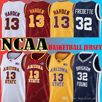 NCAA Jersey 13 James Jerseys Ordren Arizona State Sun Devils 32 Jimmer Fredette Trackys Cougars Young