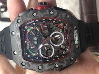 2020 Новое прибытие движения Новый стиль резинкой мужские часы автоматические механические мужские Наручные часы