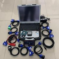 디젤 트럭 진단 도구 DPA5 DEARBORN 프로토콜 어댑터 5 노트북 CF30 PC 터치 스크린 Toughbook Windows7와 헤비 듀티