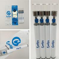 Biscoitos descartável Vape Pen Cartuchos 280mAh Vape bateria Kits de 0,5 ml vazios E-Cigarros 1.8mm petróleo Buraco atomizadores com embalagem Bag