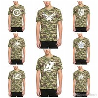 2019 Hombres Tampa Bay Lightning Toronto Maple Leafs Vancouver Canucks Vegas Golden Knights Washington Capitals Winnipeg Jets Alpha camiseta Camo