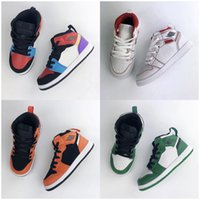 2020 Nova Jumpman Conjuntamente Assinado alta OG 1s Shoes Crianças de basquete Chicago 1 Infant Boy Girl Children Sneakers Toddlers nascido Formadores