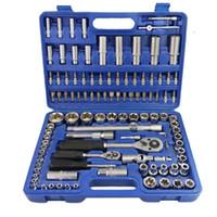 108 stücke Werkzeuge Sockel Set Automobile Motorrad Auto Fahrzeugreparatur Precision Ratchet Schraubenschlüssel Universal Joint Hardware Tool Kit Kit