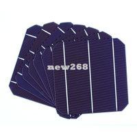 Freeshipping 50 قطعة 4.5 واط عالية الكفاءة 156MM الخلايا الضوئية أحادية الخلايا الشمسية 6x6 للبيع