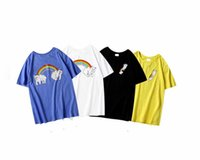 2020/RIPNDIPS European American trend designer T-shirt round neck rainbow cat print t-shirts luxury wild breathable quality cotton t-shirt