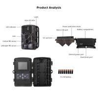 Outlife HC-800M Caça Câmera 16MP Digital 2G Caça Night Vision Câmera GSM GPRS Wildcamera Sem Fio Digital Traps Câmera