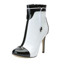 Zandina Novas Botas Artesanais das Mulheres J-strap Deco Pointy Partido Clássico de Inicialização Do Baile de Inverno BFCM Moda Vestido Sapatos N027