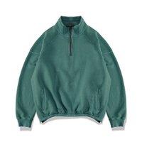 PADEGAO 100% Baumwolle Männer Pullover Sweatshirts europäische und amerikanische Straße Hip-Hop-Zip Pullover PDG1416
