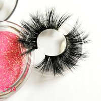 False Eyelashes 3D Mink Eyelashes Handmade Full Strip Fake L...