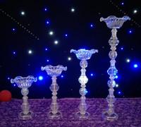 Centrotavola per matrimonio in cristallo Supporto per fiori Supporto per candele Supporto per torta Vaso in cristallo per decorazione evento festa di nozze WT099