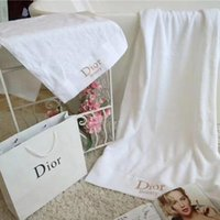 Three Pieces Cotton Towel Set Fashion Brand Shower Towels Qu...
