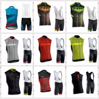NW ciclismo sin mangas jersey bicicleta babero / pantalones cortos MTB Ropa Ciclismo ciclismo WEAR mens BICYCLING Maillot Culotte A0602