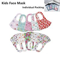 Kids Cotton Face Mask Adult Children Cover Cute Cartoon Prot...
