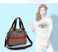 مصمم -2019 نوع جديد قماش مقبض مائل حقيبة سيدة عثرة اللون النسخة الكورية لون شريط حقيبة كتف واحدة