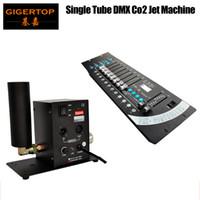 Freeshipping Tiptop Cannon CO2 Jet | DMX 512 Cannone commutabile | Effetto Cryo | Nebbia | Cina stock 3M DMX Cable 6m Gas Hose 192 Mini controller di pietra