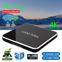 H96 MAX X2 Amlogic S905X2 Android8.1 TV-KASTEN 2GB / 4GB RAM 16/32 / 64GB ROM Dual-WLAN-Bluetooth 4K-Set-Top-Box