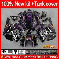 Thundercat For YAMAHA YZF 600 R CC 600CC 600R 72HC.3 YZF600R YZF-600R 96 97 98 99 00 01 02 03 04 05 06 07 1996 2007 Fairings purple black