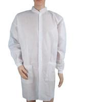Одноразовая защитная одежда одноразовый нетканый защитный костюм соединенная одежда унисекс санитарная защита от пыли комбинезон GGA3326-9
