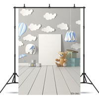 balloon photography backdrop starfish photo background for s...